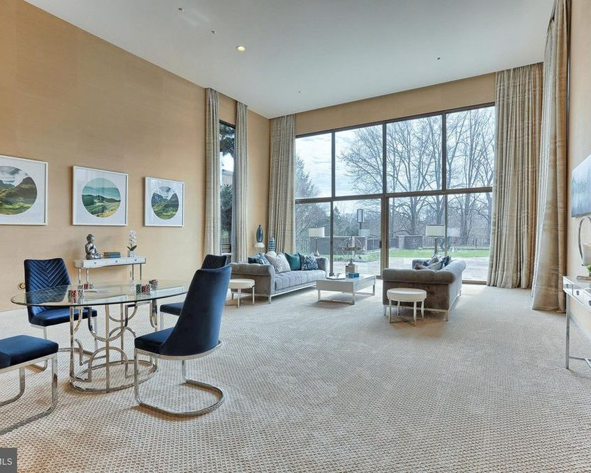Contemporary, Modern, Mid-Century Modern, Great Room, entertaining in a mid-century space